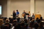 Union College students leading worship